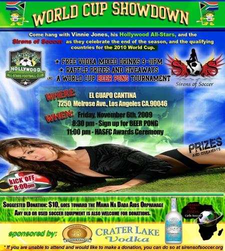 W.C showdown event